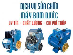 Dịch vụ sửa chữa máy bơm nước tại nhà giá rẻ