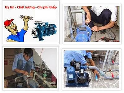 Dịch vụ sửa chữa máy bơm nước tại nhà giá rẻ uy tín
