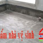 Chuyên nhận chống thấm nhà vệ sinh chuyên nghiệp