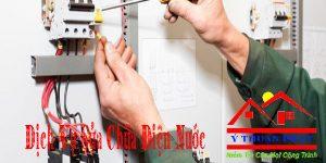 Dịch vụ sửa chữa điện nước tại nhà quận 2 giá rẻ