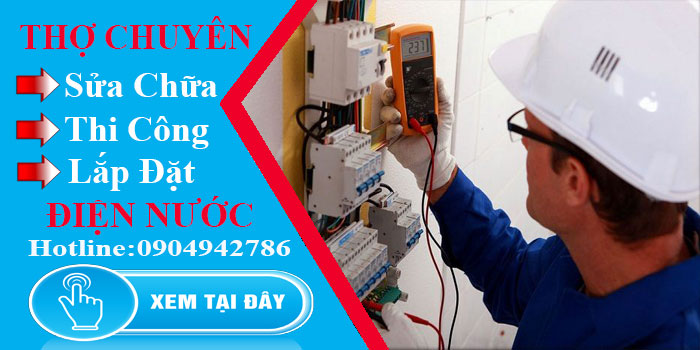 Thợ sửa điện tại nhà TPHCM chuyên nghiệp