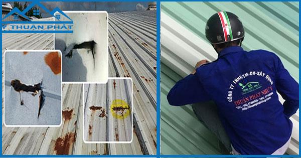 Sửa chữa mái tôn giá rẻ