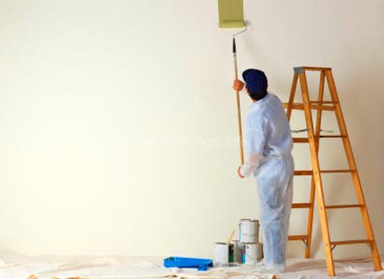 Thi công sơn EPOXY