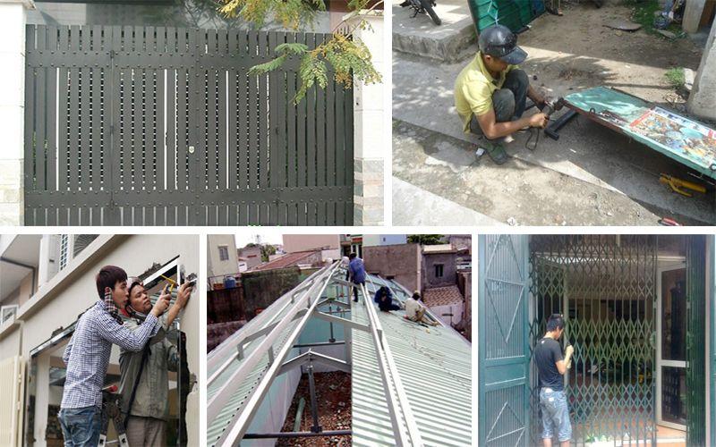 Dịch vụ sửa chữa cửa sắt