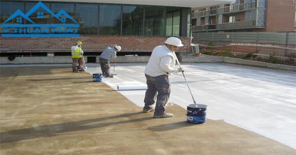 5 cách chống thấm sàn mái