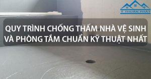 5 Kỹ thuật chống thấm nhà vệ sinh hiệu quả