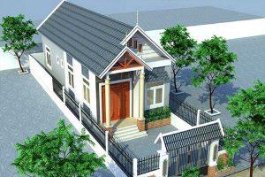 Những ngôi nhà đẹp với thiết kế sử dụng mái ngói