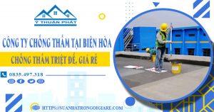 Công ty chống thấm tại Biên Hòa
